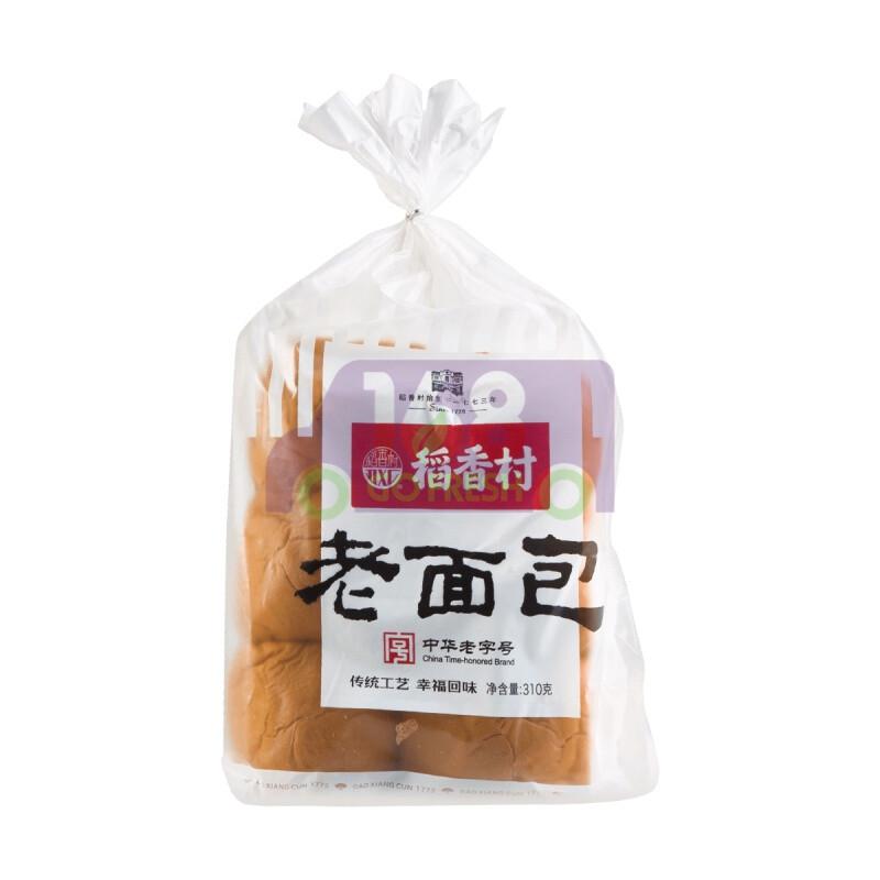 BEIJING WHEAT FLOUR BREAD 稻香村 老面包原味 (310g)