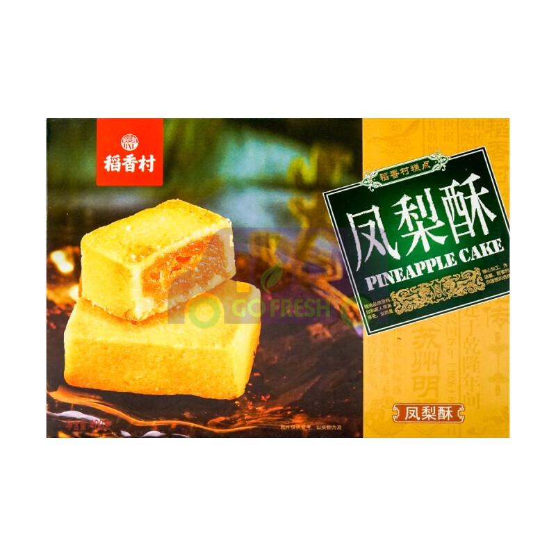 BEIJING WHEAT FLOUR BREAD 稻香村 凤梨酥 (400g)