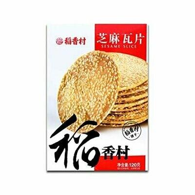 DAOXIANGCUN SESAME SLICE 稻香村 芝麻瓦片(120G)