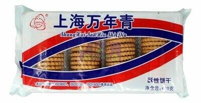 SHANGHAI SANNIU COOKIES 三牛 上海万年青酥性饼干(400G)