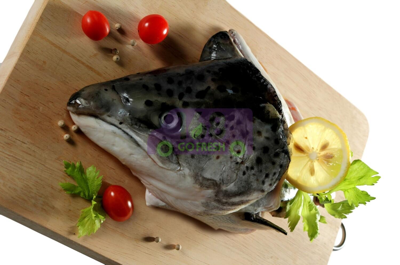 (仅供星期5,6供应)Salmon Head (2 Counts) 三文鱼头1个装