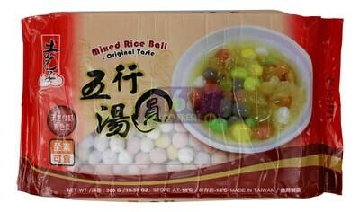 MIXED RICE BALL ORIGINAL TASTE 土包子 五行汤圆(10.58OZ)