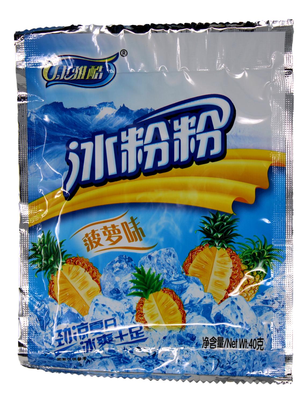 KANGYAKU KONJAC POWDER PINEAPPLE FLAVOR 40G 康酷雅 冰粉粉 菠萝味(40G)