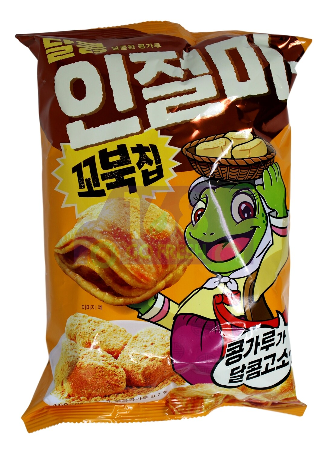 ORION TURTLE CHIPS SWEET BEAN FLAVOR 韩国 好丽友乌龟薯片甜豆风味(160G)