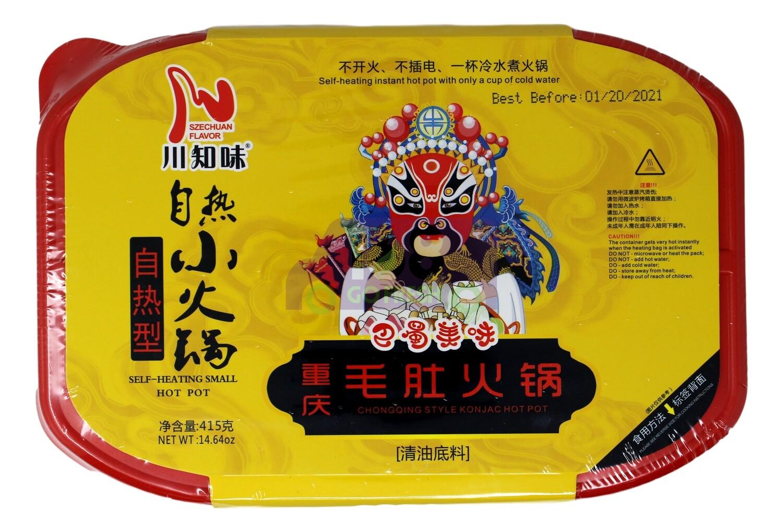 CHONGQING-STYLE KONJAC HOT POT 川之味 自热小火锅 重亲毛肚火锅(415G)
