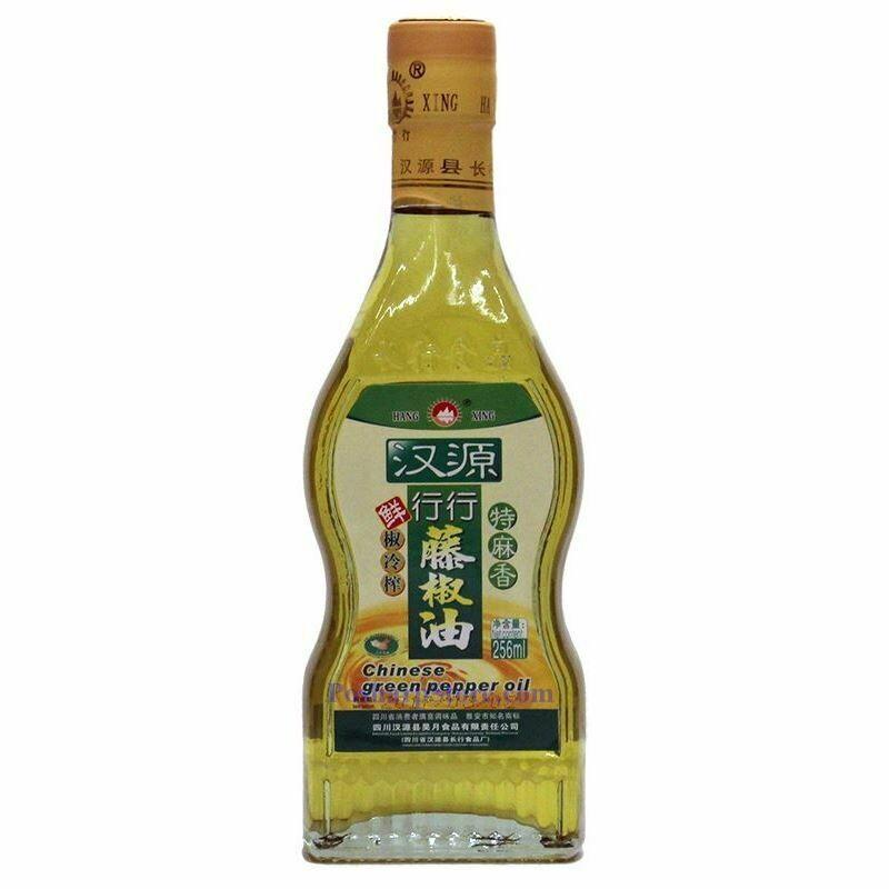 CHINESE GREEN PEPPER OIL 行行 汉源藤椒油(266ML)