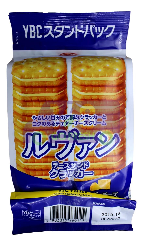 YBC CRACKER YLEVAIN CHEESE SANDWICH 日本 芝士奶油夹心饼干