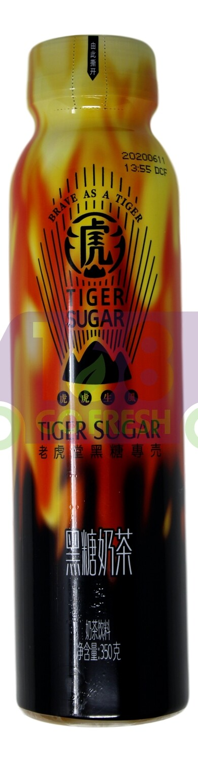 TIGER SUGAR BROWN SUGAR MILK TEA 老虎堂 黑糖奶茶(350G)