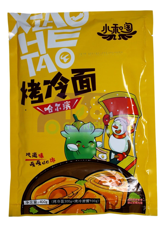 COLD NOODLES SPICY FLAVOR 小和淘 哈尔滨烤冷面(400G)