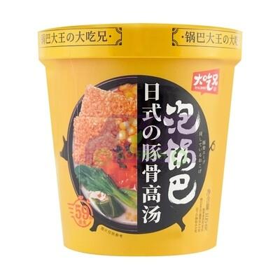 CRISPY RICE VERMICELLI SOUP-ORIGINAL FLV 大吃兄 日式豚骨高汤(泡锅巴)粉丝 105g
