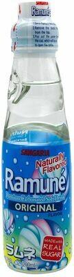 SANGARIA RAMUNE DRINK - ORIANGE 日本 SANGARIA 原味弹珠汽水(200 ML*6 瓶)
