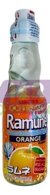 SANGARIA RAMUNE DRINK - ORIANGE 日本 SANGARIA 橙子味弹珠汽水(200 ML*6 瓶)
