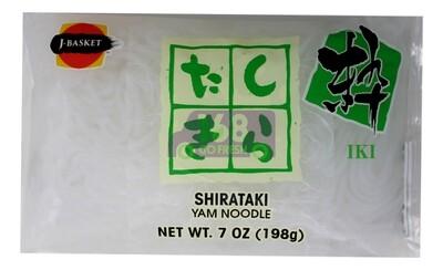 J-BASKET SHIRATAKI (YAM NOODLE) 日本 蒟蒻 魔芋丝 白(7OZ/14OZ)