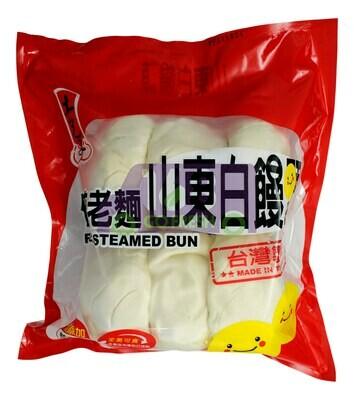 FROZEN STEAMED BUN 土包子 老面山东白馒头(6个)