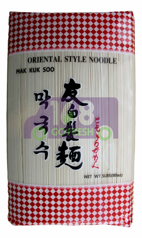 Oriental Style Noodle(MAK KUK SOO) 韩国产 友白发 细面(3LBS/5LBS)