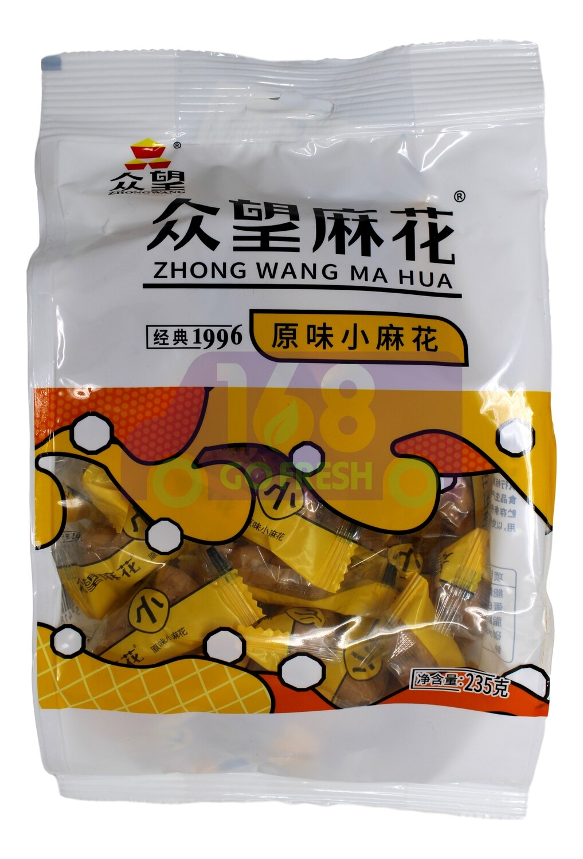 ZHONGWANG TWIST SNACK 众望小麻花 (蜂蜜味/原味/芝麻红糖)