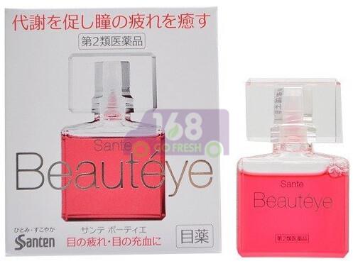 [ON SALE  热卖促销]SANTE FX BEAUTEYE EYE DROPS日本参天牌抗衰老祛血丝抗疲劳玫瑰眼药水(原价$20.12)