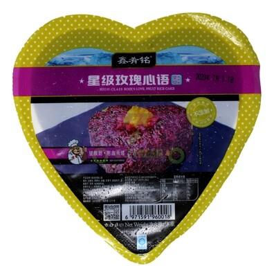 HIGH CLASS ROSE'S LOVE ,FRUIT RICE CAKE 鑫肴铭 星际玫瑰心语 冷冻糯米饭(心)