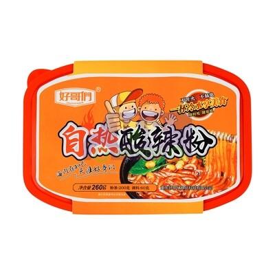 SELF HEATING HOT & SOUR NOODLES 好哥们 自热酸辣粉(260G)