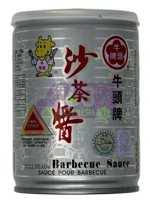 BULL HEAD BARBECUE SAUCE 牛头牌 沙茶酱(250G)
