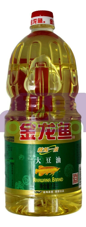ARAWANA EDIBLE BLEND SOY OIL 金龙鱼 大豆油(1.8L)