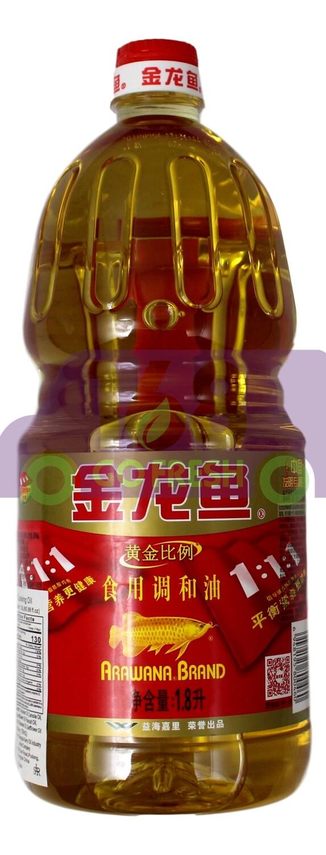 ARAWANA EDIBLE BLEND SOY OIL 金龙鱼 食用调和油(1.8L)