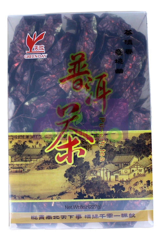 GREEN DAYPUER TEA 天成 云南普洱茶(8OZ) 独立包装