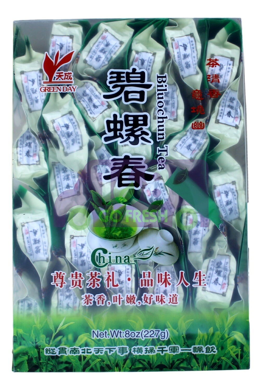 GREENDAY LONGJING TEA 天成 特级碧螺春(8OZ) 独立包装