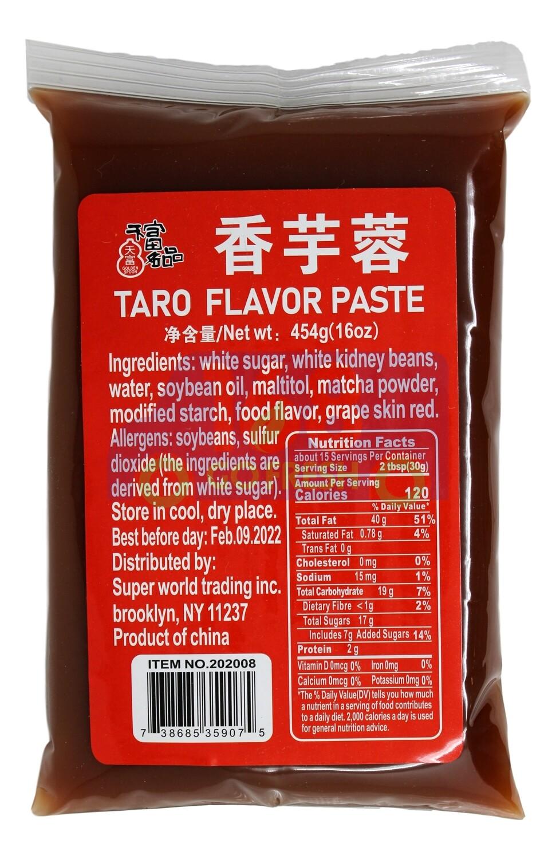 Taro Flavour Paste 天富名品 香芋蓉(454G)