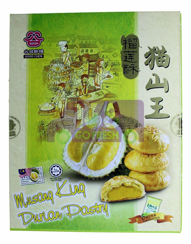 GOODCHEN MUSANG KING DURIAN PASTRY 6PACK 马来西亚 谷城饼栈 猫山王 榴莲酥