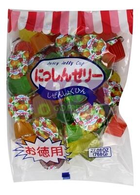 NISHI JUICY JELLY CUP 日本 NISHI 水果果冻 德用(27.08OZ)
