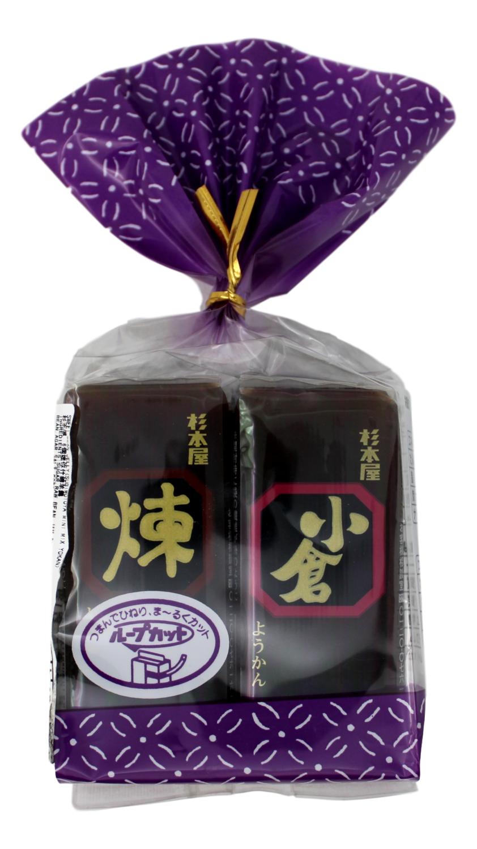 SUGIMOTOYA SWEET BEAN JELLY 杉本屋 6个迷你什锦羊羹(12.27OZ)(四种颜色随机发货)