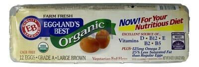 Egg Land's Best Eggs Organic 有机鸡蛋