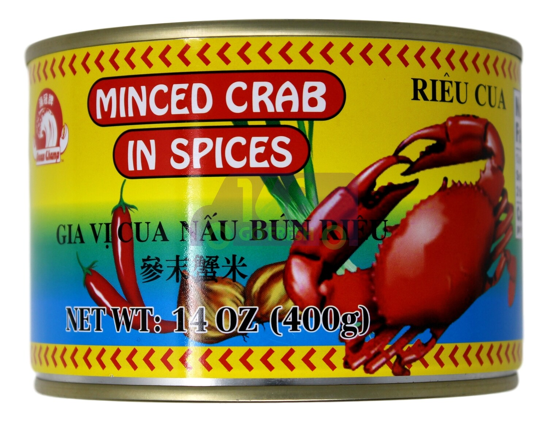 OCEAN CHAMP MINCED CRAB IN SPICES 海冠牌 参末蟹米(14OZ)