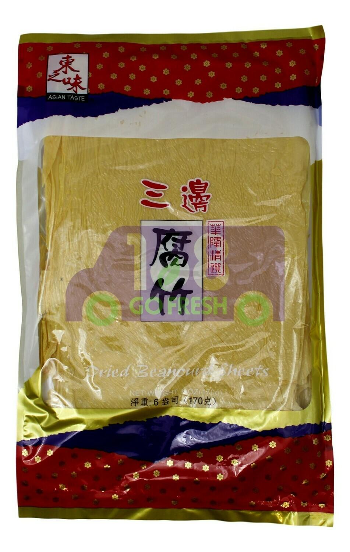 DRIED BEANCURD SHEETS 东之味 三边腐竹(6OZ)