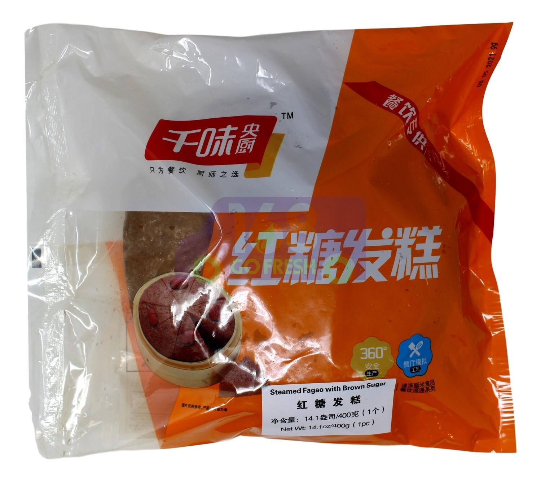 Steam Fagao with Brown Sugar 千味央厨 红糖发糕(400G)