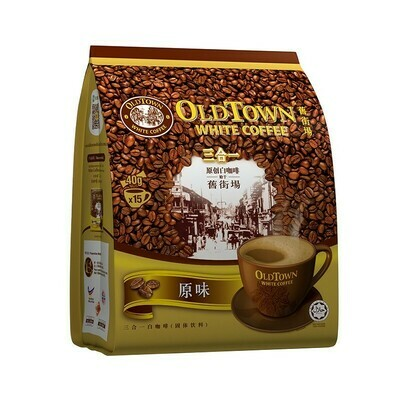 OLDTOWN CLASSIC COFFEE 旧街场 白咖啡 经典原味(38G*15)