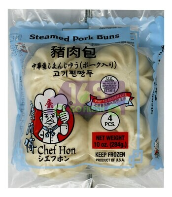CHEF HON STEAMED PORK BUN  康师傅 猪肉包(10OZ.)