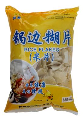 RICE FLAKES 獨稻 锅边糊片(200G)
