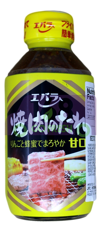 BBQ SAUCE (YAKINIKU NO TARE MILD) 日本 烤肉酱 蜂蜜口味(300G)