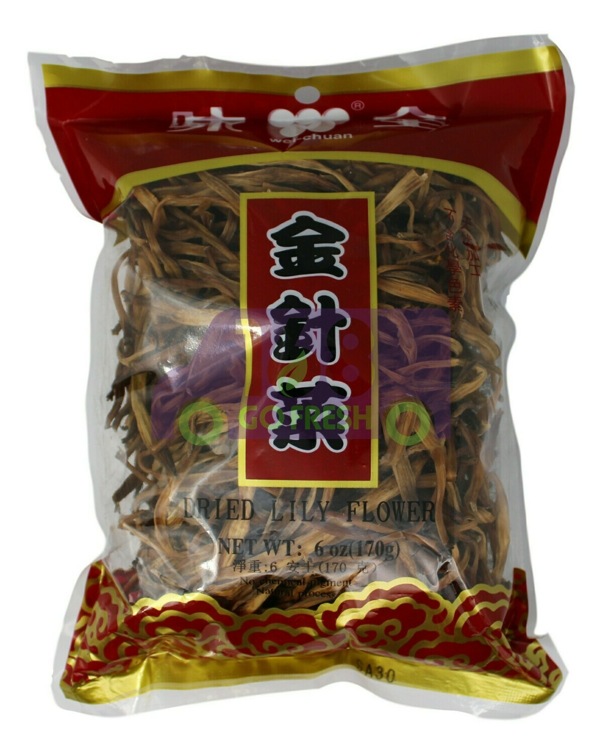 DRIED LILY FLOWER 味全 金针菜(6OZ)