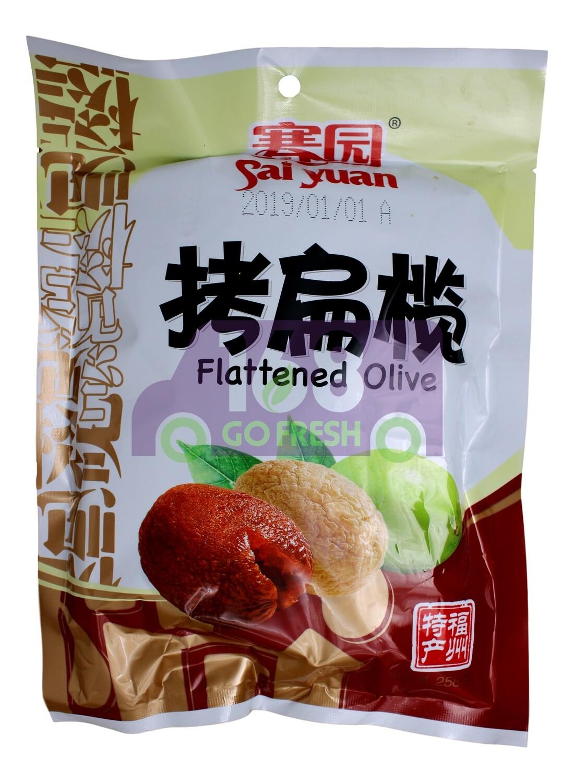 SAIYUAN FLATTENED OLIVE 赛园 烤扁榄(258G)