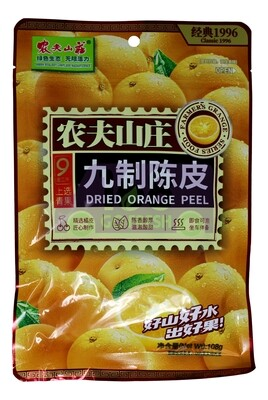 FARMER'S GRANGE PRESERVED ORANGE PEEL 农夫山庄 九制陈皮(108G)