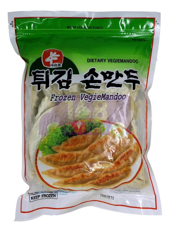 FROZEN VEGIEMANDOO 韩国 鹿牌 蔬菜煎饺(1KG)