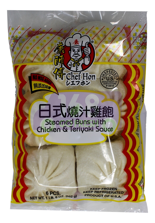 STEAMED BUNS W/ CHICKEN TERIYAKI SAUCE 康师傅 日式烧汁鸡包(682G)