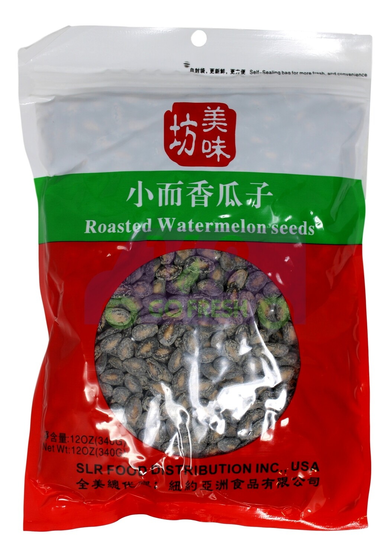 ROASTED WATERMELON SEEDS 美味坊 小而香瓜子(12OZ)