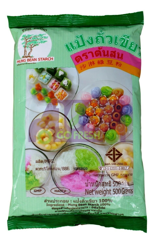PINE BAND MUNG BEAN STARCH 青松牌 沙淋绿豆粉(500G)