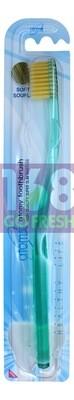 TOMY TOOTHBRUSH - HIGH QUALITY SUPER SLIM BRISTLES[SENT RANDOMLY] 韩国ATOM美纤细软毛牙刷-款式随机配送