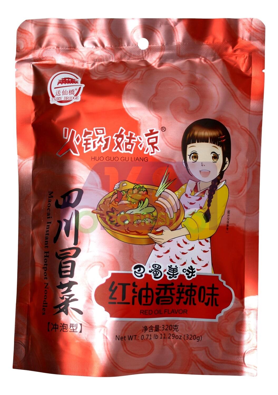 SICHUIAN  MAOCAI  火锅姑凉 四川冒菜(冲泡型)(320G)