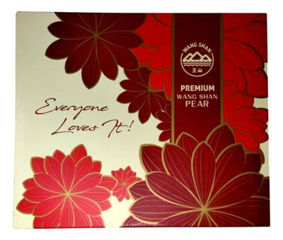 Premium Wang Shan Pear 王山 特选秋月梨(3个或一箱9个)